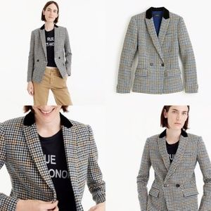 ❤️ NWT J.CREW DOVER BLAZER IN HOUNDSTOOTH WOOL